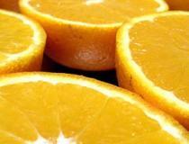 Insalata con uova sode e arance